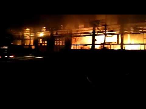 Incendiu Tulcea Socetatea Transport Public