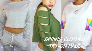 Romwe SPRING TRY-ON CLOTHING HAUL // comfortable wear | Takaiyaa