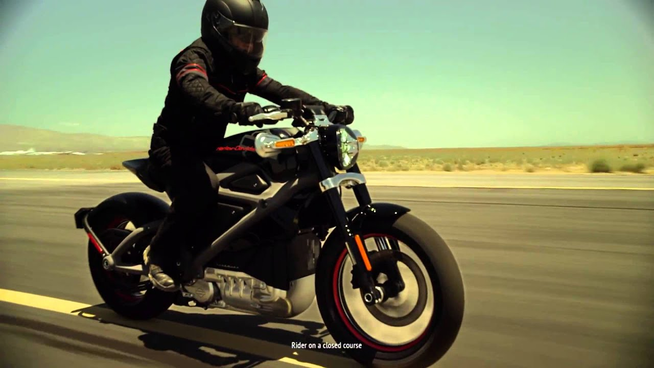 Harley Davidson electric bike - Project LiveWire - YouTube