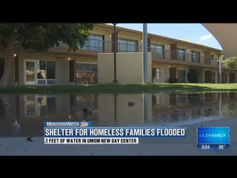 Phoenix homeless shelter for families hit hard by flood damage 3TV CBS 5
