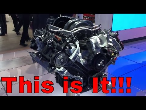 New 2018 Mustang GT 5.0L V8 Engine???