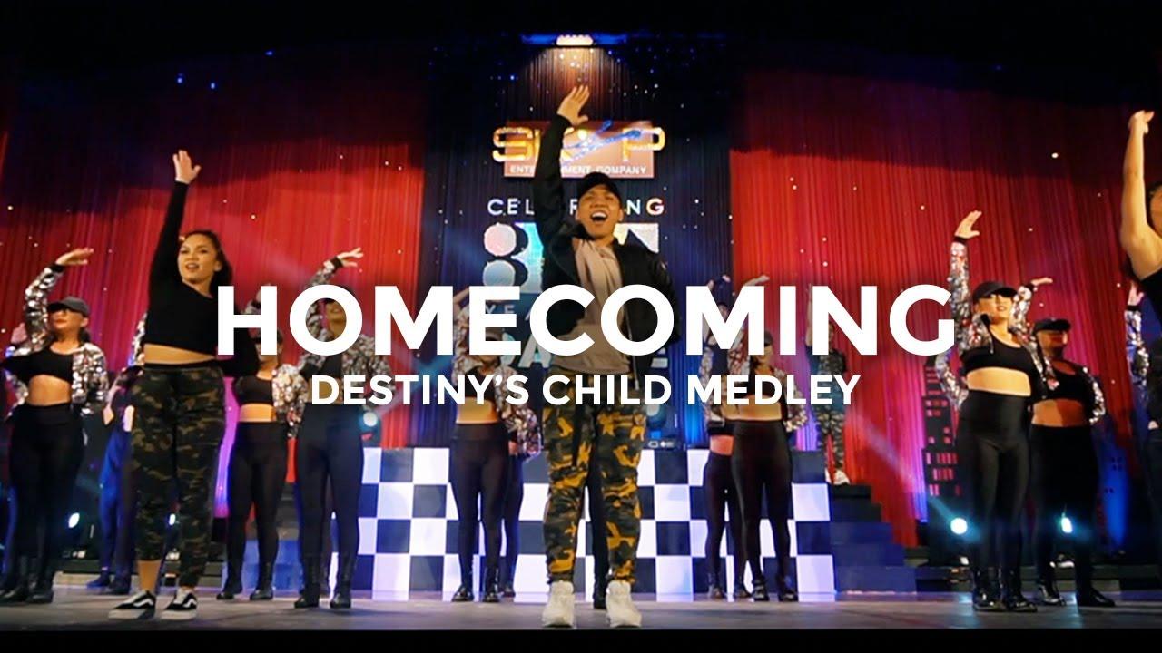 Beyoncé - Homecoming (Destiny's Child Mix) Dance Video | @besperon  Choreography