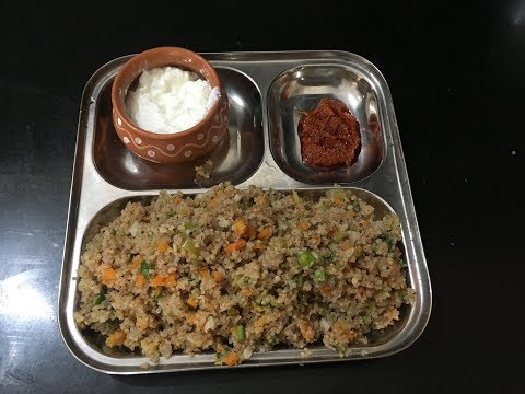 Weight Reduction  & Diabetic Friendly   Upma