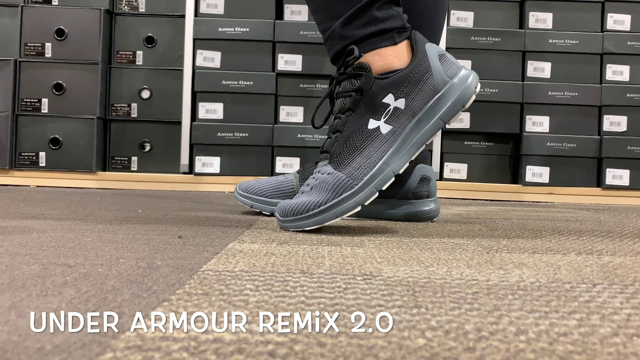 The Under Armour Remix 2.0 WILL MAKE