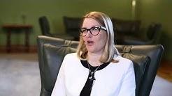 Mari Kiviniemi valtioneuvoston viestinnän haastattelussa