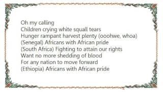 Buju Banton - African Pride Lyrics