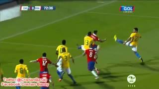 Chile 2 Brasil 0 (Relato Tatan Luchsinger) Eliminatorias Rusia 2018