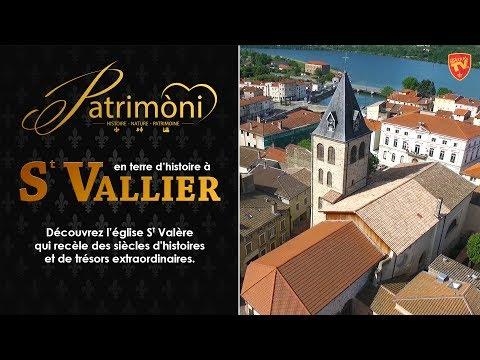 L'église St Valère à St Vallier-sur-Rhône