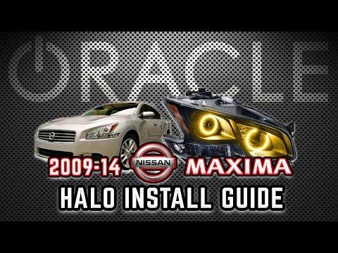 D.I.Y. – Install 09-14 Nissan Maxima ORACLE SMD HALOS