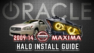 BROWSE NISSAN HALO HEADLIGHT KITS: http://www.oraclelights.com/Niss...