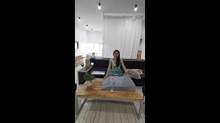 Дополнение к клиновидной подушке ортопедическая под ноги