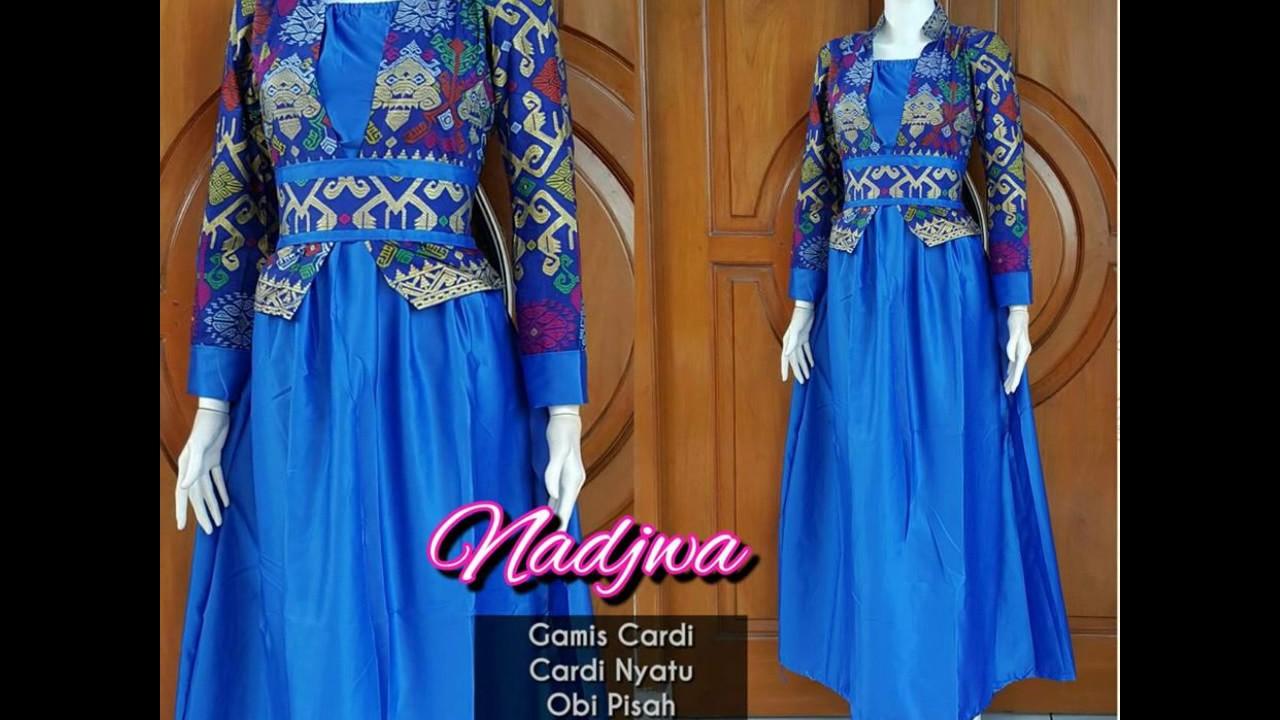 Wa 0878 3609 2333 Gamis Muslim Batik Pesta Gamis Muslim Batik