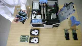 DELL Precision T5500 with 2xXEON E5520, 2xQuadro FX 4600, 2xWD Raptor 10K, 24GB ECC
