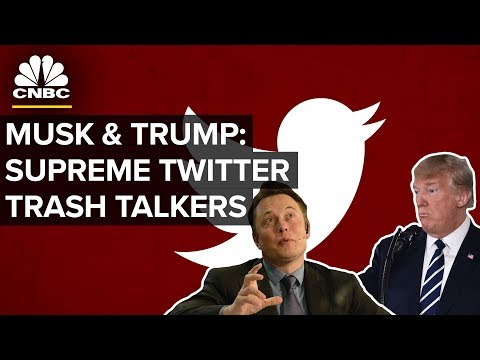 Elon Musk Brings Donald Trump-style Tweets To Silicon Valley | CNBC