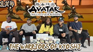"""Avatar The Last Airbender 1 X 4 """"The Warriors Of Kyoshi"""" Reaction/Review"""