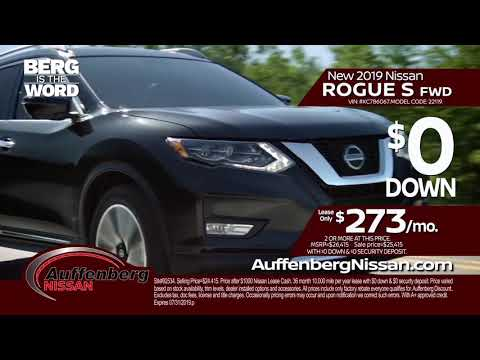 2019 Nissan Altima SV and Nissan Rogue S - Auffenberg Auto Group