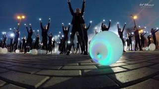 Флешмоб с фонариками