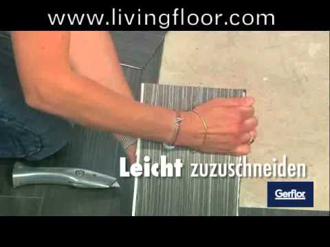 gerflor senso selbstklebende vinyl planken youtube. Black Bedroom Furniture Sets. Home Design Ideas