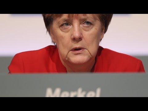 Germany's Merkel Calls for Ban on Full-Face Veils