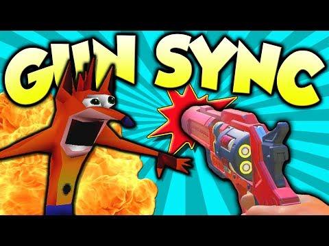 ♪ WARPED ♪ ~ Overwatch Gun Sync ~ Crash Bandicoot Remix by PUNYASO