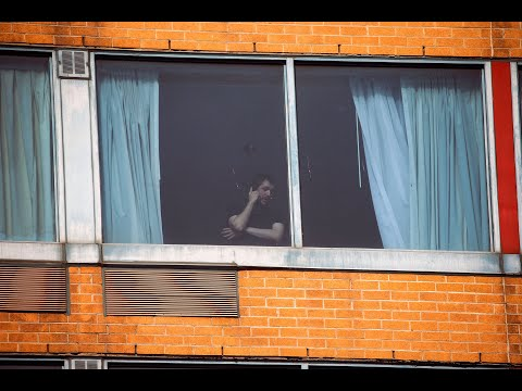 HOTEL COVID: Airline passengers kept in quarantine
