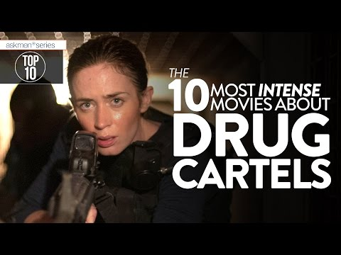 The 10 Most HARDCORE Drug Cartel Movies Ever | Top 10