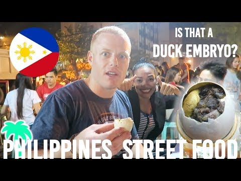 DAVAO CITY.. PHILIPPINES! 🇵🇭 Trying BALUT - #1 Filipino STREET FOOD – Night Market Travel Vlog
