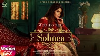 Motion Poster | Sohnea | Miss Pooja Feat Millind Gaba | Full Song Coming Soon | Speed Records