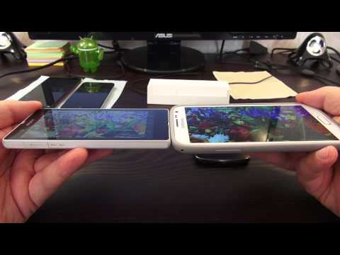 Sony Xperia Z. Обзор и сравнение.