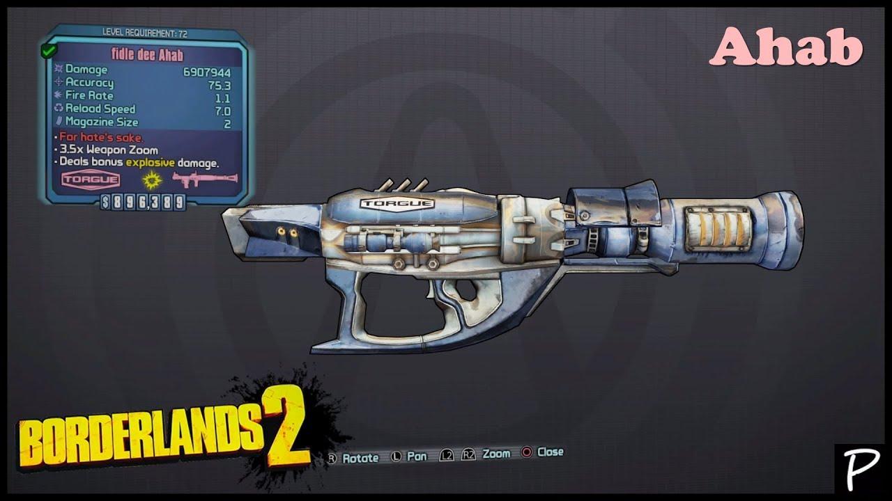 Borderlands 2: Ahab (Seraph weapons #7)