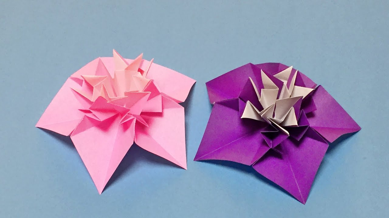 Origami easy but beautiful how to make a paper flower for origami easy but beautiful how to make a paper flower for beginners flowers making with paper mightylinksfo