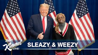 Trump's COVID Denial, Rally Disdain & Meeting with Lil Wayne