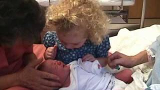 Little Girl Has The Most Precious Reaction To Meeting Her Newborn Sister