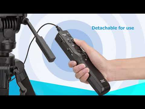 JJC TP-F2K Remote Control Tripod For Sony Cameras Or Camcorders With A Multi Terminal As VCT-VPR1