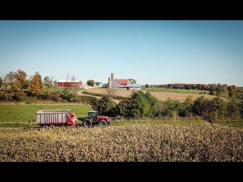 Farming On Demand: Custom Farming With Massey Ferguson Tractors And Balers