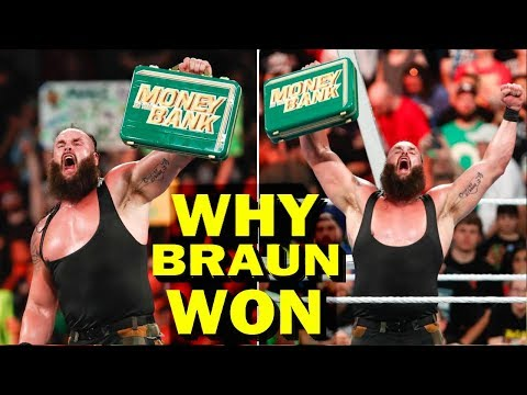 Real Reasons Why Braun Strowman Won at Money in the Bank 2018