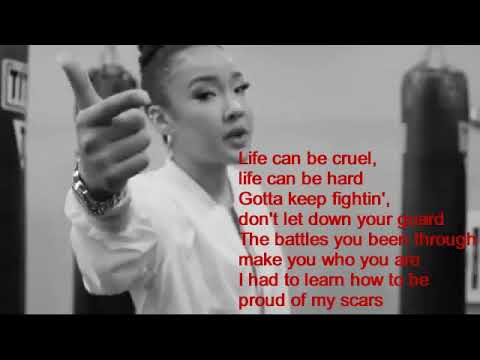 life-is-one-big-fight-tatiana-manaois-video-lyrics