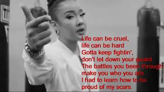 Life is one big fight   Tatiana Manaois Video Lyrics