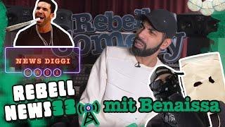 Rebell News #33 mit Benaissa