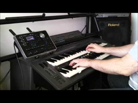 Roland BK-7m - G1000 8Beat Style - Aftertouch Pitchbend