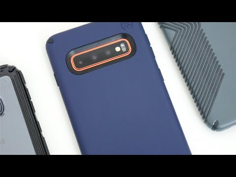 Speck Presidio Pro, Grip & V-Grip Cases For Samsung Galaxy S10!