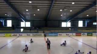 HC Sparta Praha sledge hokej vs Sharks Karlovy Vary - 1. zápas finále