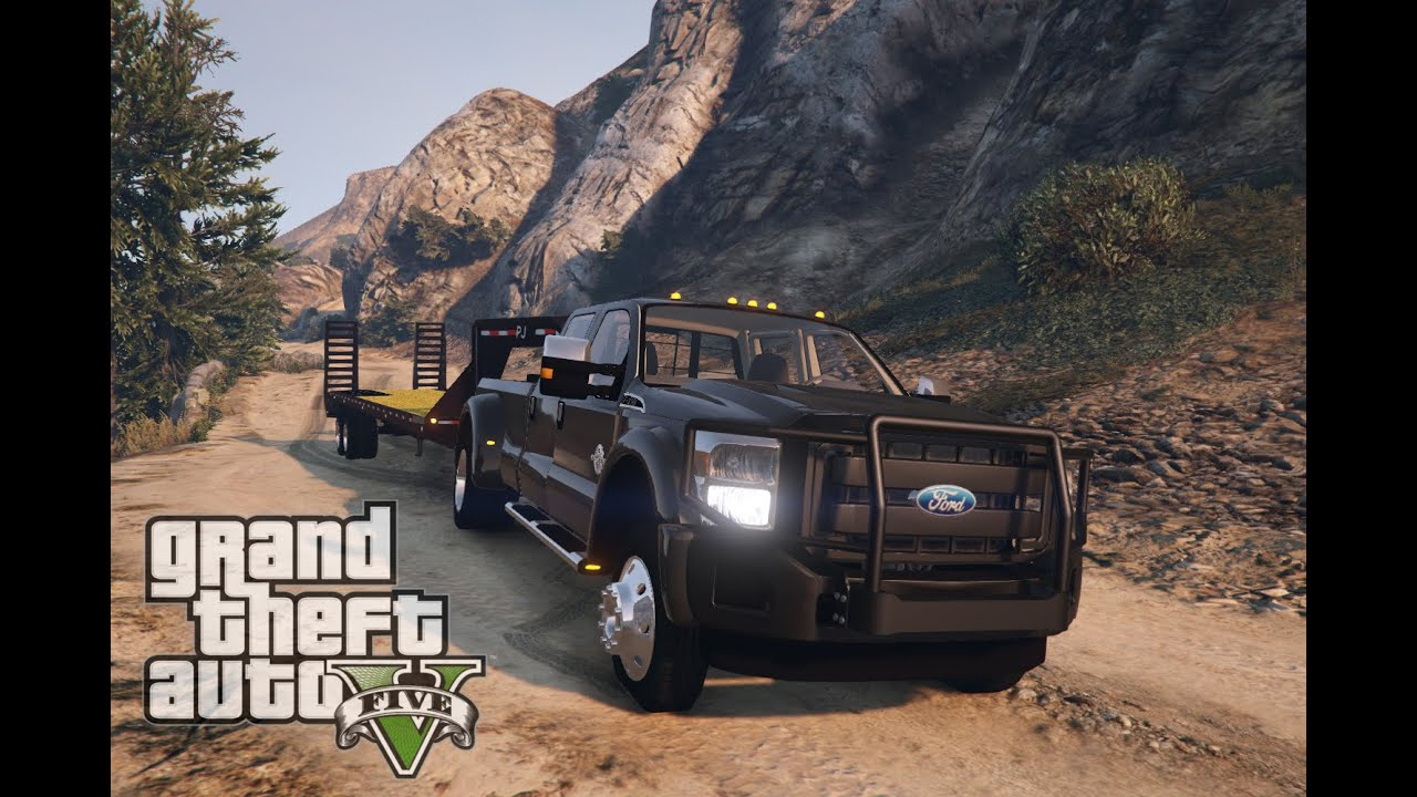 All Out Diesel >> Grand Theft Auto V 2014 Ford F350 SuperDuty [HD] - YouTube