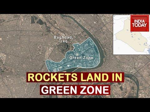 Fresh Rocket Attack: 2 Rockets Land Inside Green Zone In Baghdad, Iraq