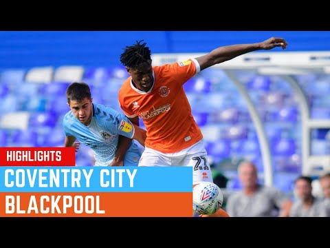 Match Highlights   Coventry City 3 Blackpool 2