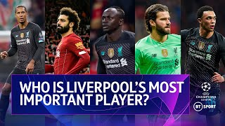 Who is Liverpool's most important player? Rio Ferdinand, Peter Crouch,