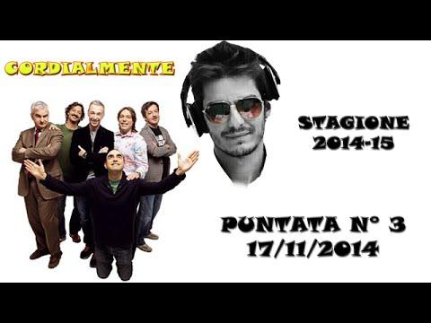 03 - Cordialmente 17-11-2014 [Karaoke Mangoni: Sam Smith - I'm Not The Only One]