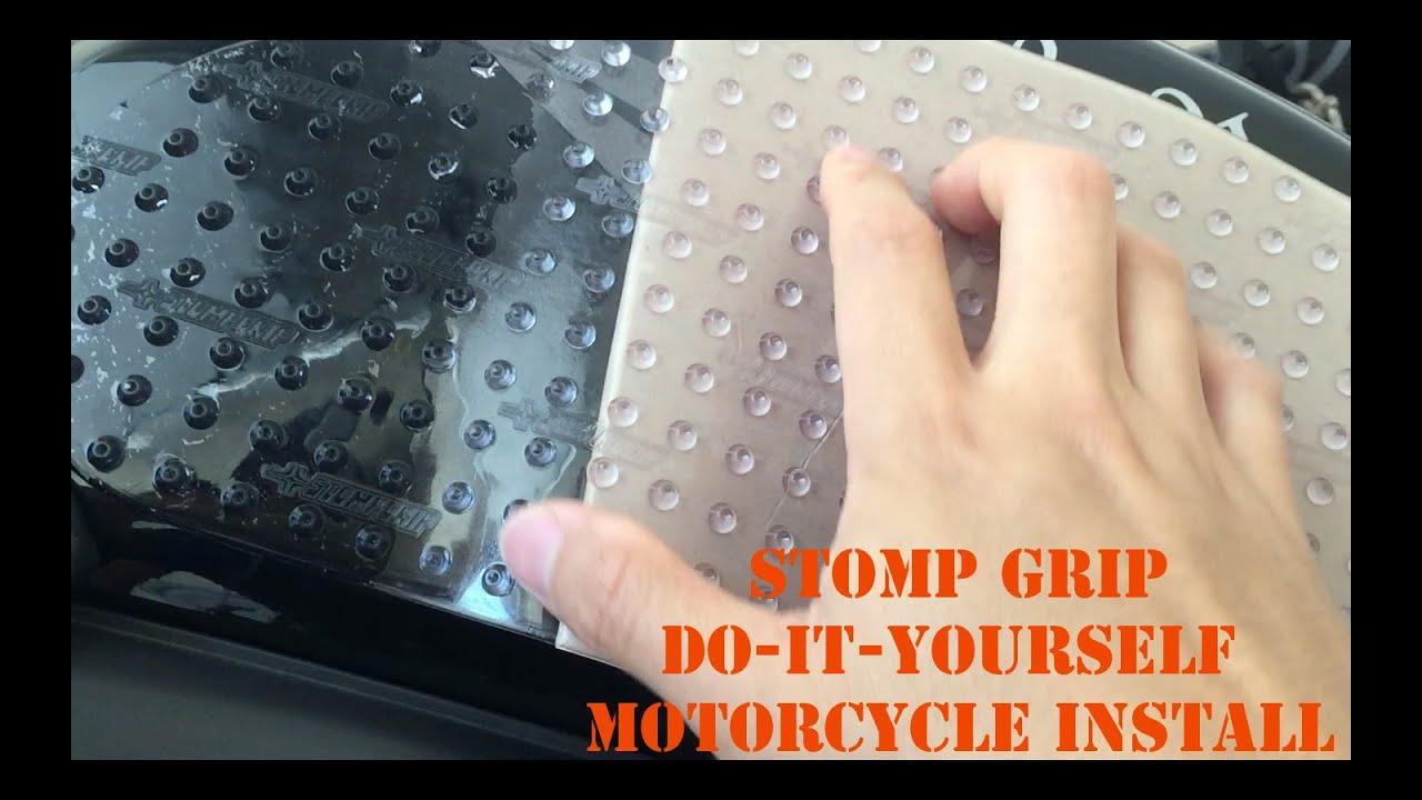 Diy Cbr600rr Stomp Grip Tank Pads Installation