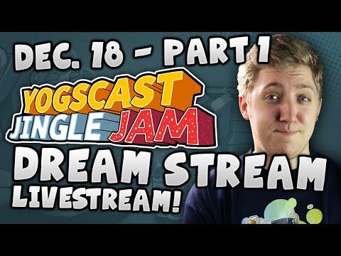 Yogscast Jingle Jam - Dream Stream Part 1 - Block n Load Prestream with HatFilms