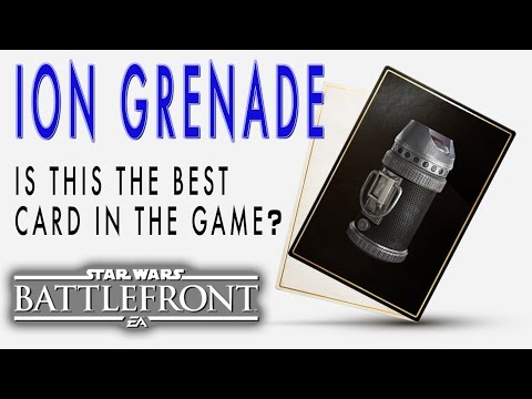 Star Wars Battlefront - Ion Grenades Are Awesome